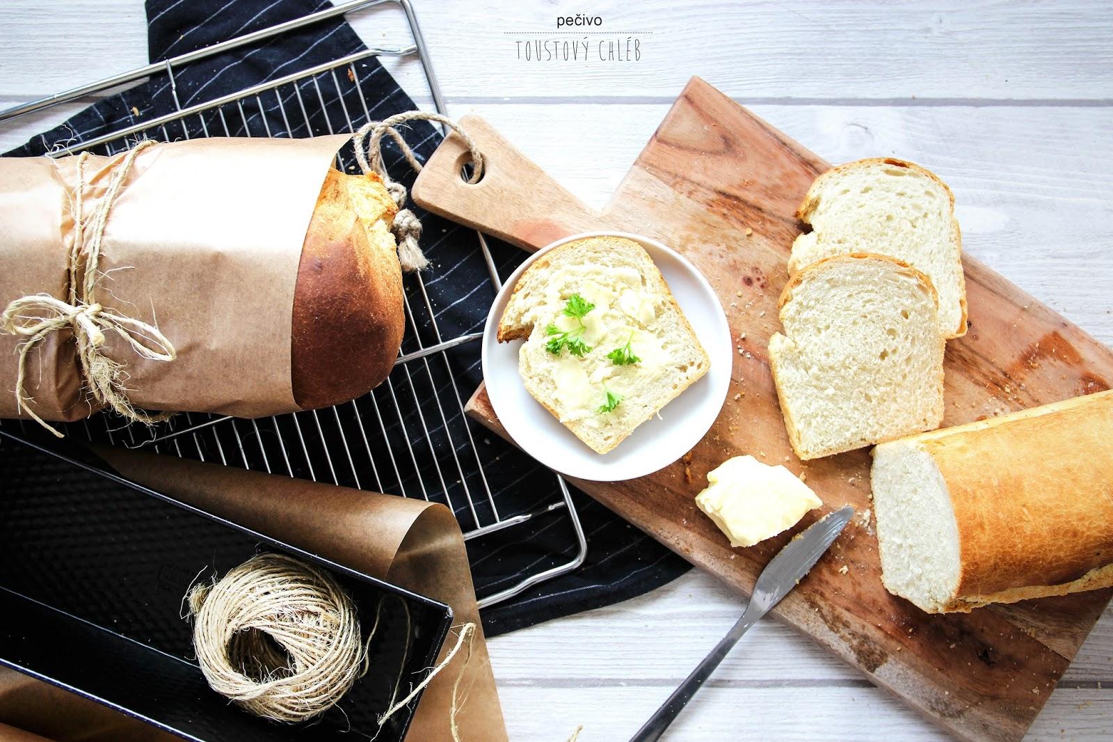 Recept na toustový chléb
