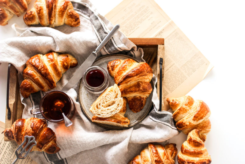 francouzský croissant